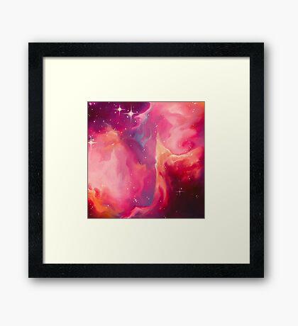 Nebula - I Am Framed Print