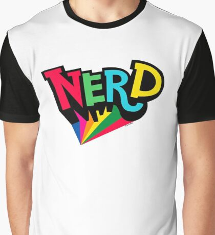 Nerd Spotlight Graphic T-Shirt