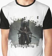 Bloodborne splatter Graphic T-Shirt