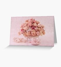 Dried Peony Still Life Greeting Card