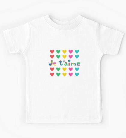 Je t'aime  Kids Clothes