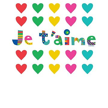 Je t'aime  by andibird