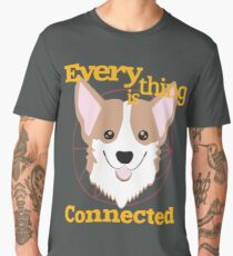 Everything is Connected Men's Premium T-Shirt