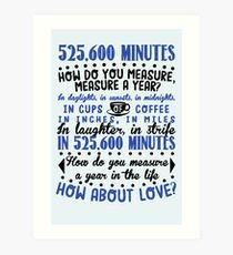 Measure In Love Art Print