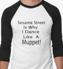 The Muppet Dance Men's Baseball ¾ T-Shirt