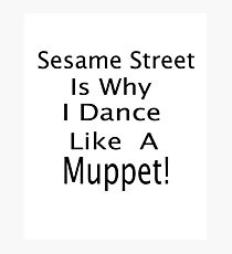 The Muppet Dance Photographic Print