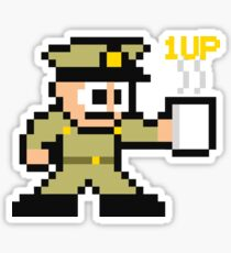Power Up with Coffee! Sticker