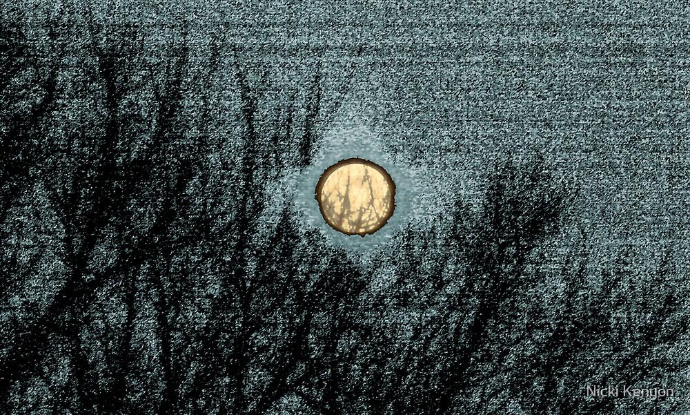 Moon art by Nicki Kenyon