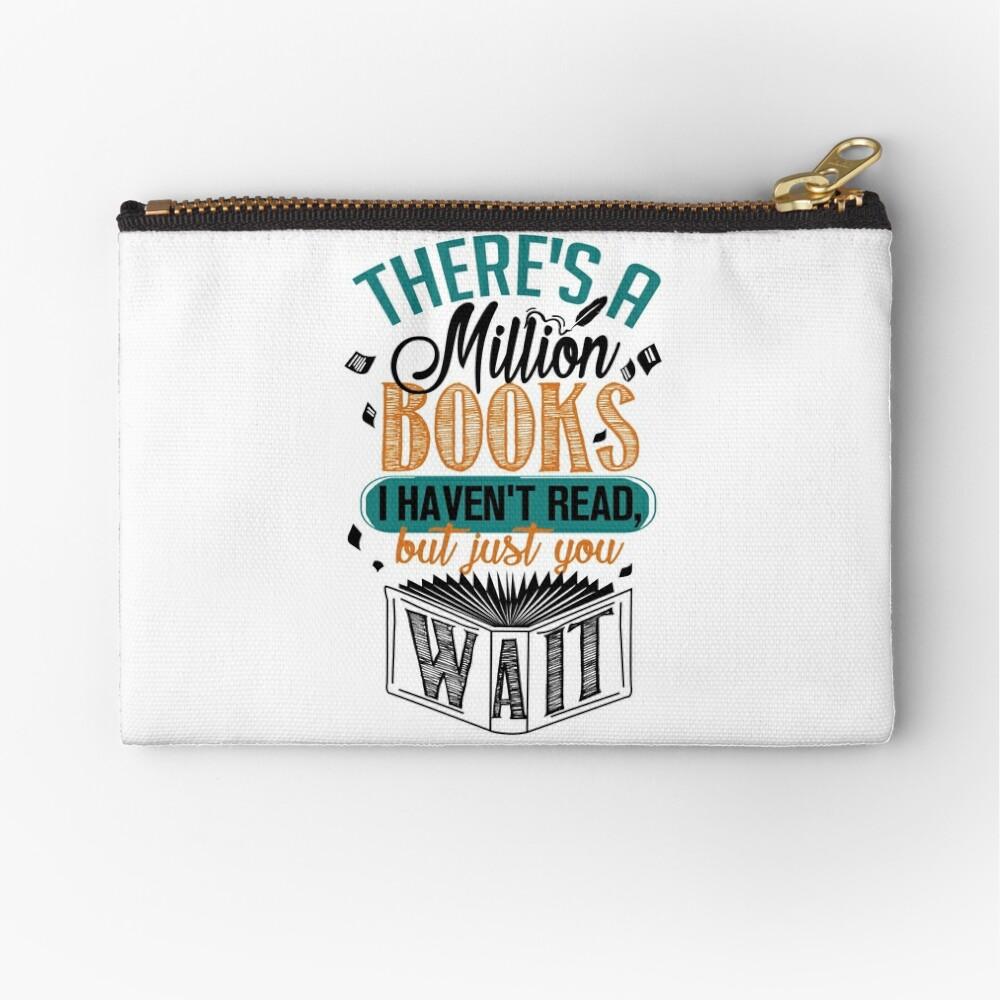 Es gibt eine Million Bücher, die ich nicht gelesen habe ... Täschchen