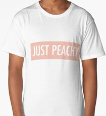 Just Peachy Long T-Shirt