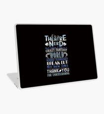 Theatre Nerd Laptop Skin