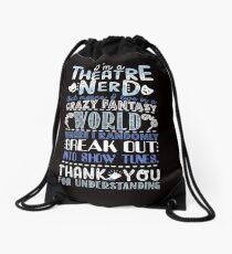 Theatre Nerd Drawstring Bag