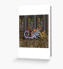 The Doodlethwumpus Greeting Card