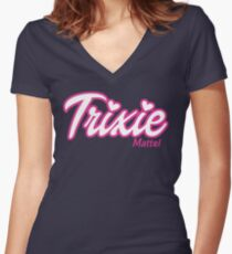 Trixie Mattel Women's Fitted V-Neck T-Shirt