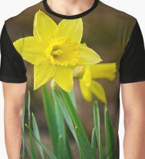 Beautiful Daffodils Graphic T-Shirt