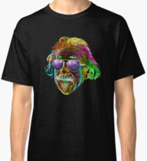 Albert Einstein Neon Rave Design Classic T-Shirt