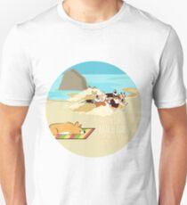 2017 - Corgi Storm - Round Unisex T-Shirt