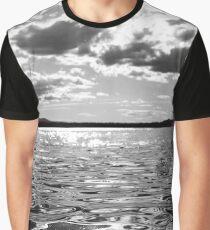 Metallic Waters Graphic T-Shirt