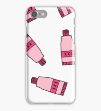 lubricant doodle pattern iPhone Case/Skin