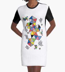 Edgewise  Graphic T-Shirt Dress