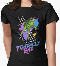 Toadally Rad Women's Fitted T-Shirt