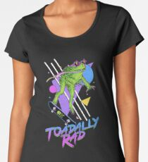 Toadally Rad Women's Premium T-Shirt