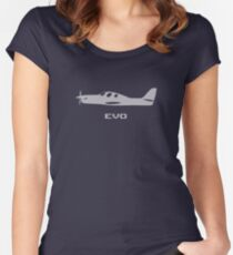 Evolution Plane Women's Fitted Scoop T-Shirt