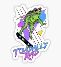 Toadally Rad Sticker