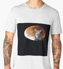 Cat in Outer Space 3 Men's Premium T-Shirt