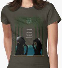 Jane Goodall, Pioneer of STEM Womens Fitted T-Shirt