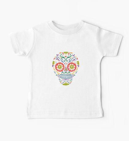 Sugar Skull SF multi 2 - on white Kids Clothes