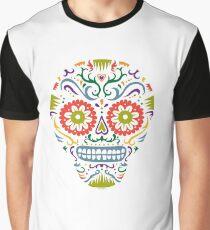 Sugar Skull SF multi 2 - on white Graphic T-Shirt