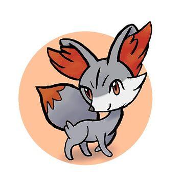 Pokémon Shiny Fennekin by DesignsByEmma