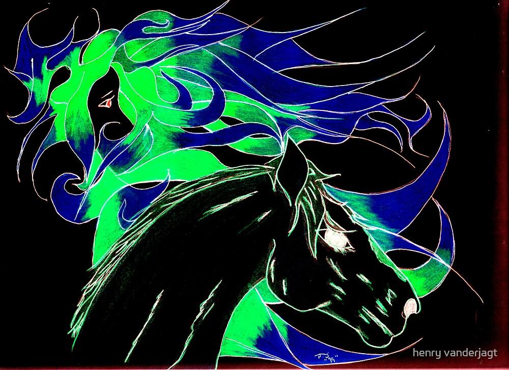 """HORSE SPIRIT """"GREEN"""" by Henry VanderJagt"""