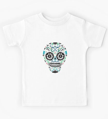 Sugar Skull SF multi om white Kids Clothes