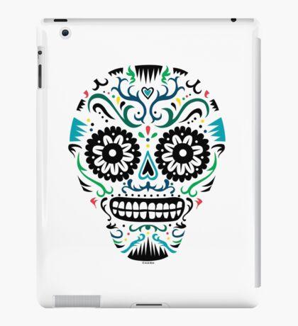 Sugar Skull SF multi om white iPad Case/Skin