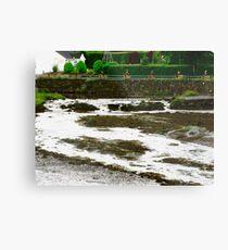 The Glenalla River, Donegal, Ireland Metal Print