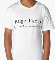 Paige Turco owns my heart Long T-Shirt