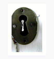 The Keyhole Art Print