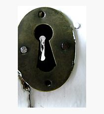 The Keyhole Photographic Print