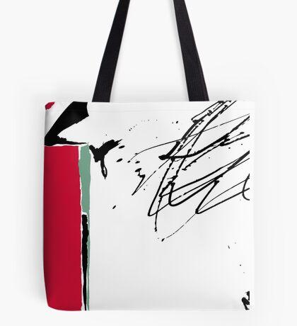 Red Splash Tote Bag