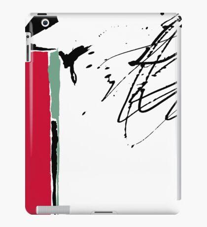 Red Splash iPad Case/Skin