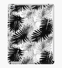 Monochrome Leaves iPad Case/Skin
