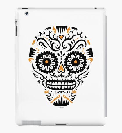 Sugar Skull SF -  on white iPad Case/Skin