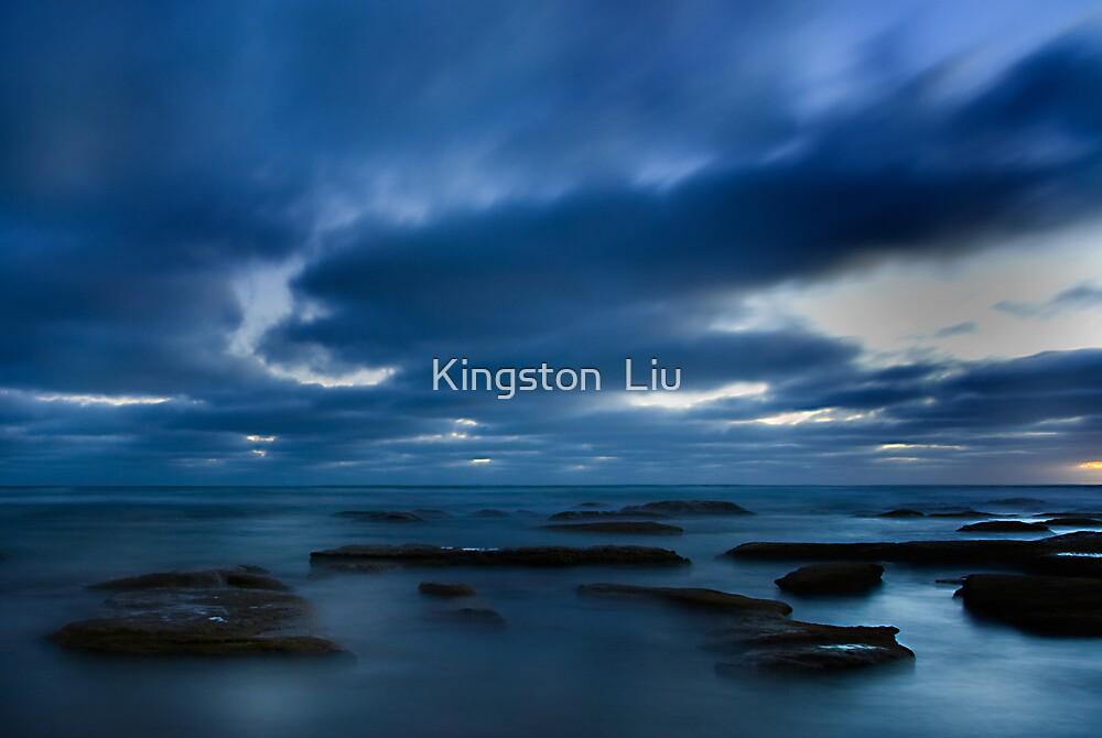 Night Beach by Kingston  Liu