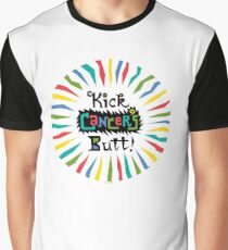 Kick Cancer's Butt  Graphic T-Shirt