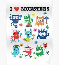 Monster Love Poster