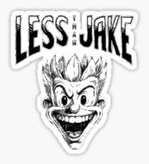 less than jake  Sticker