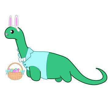 Bunny Dino by Rougetango