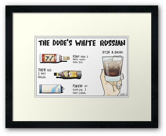 The Dude's White Russian by Brandon Matlock